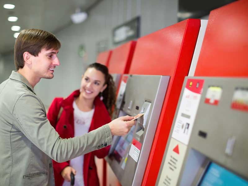 Expendedores de abonos para sistemas autom ticos de venta for Oficina abono transporte