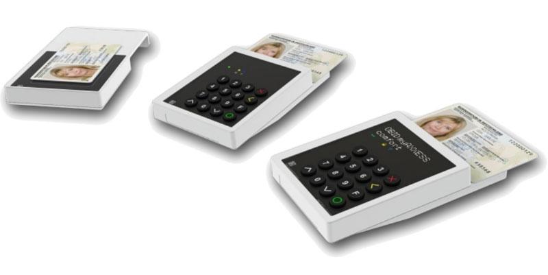 Lectores RFID NFC para el DNI-electrónico alemán (nPA)