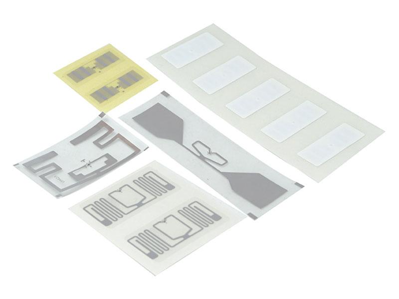 Etiquetas e inlays UHF.