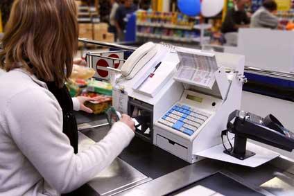 Los supermercados son una clara demosttración de la necesidad de orientación del código de barras