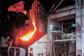 Relés e interruptores para plantas de acero