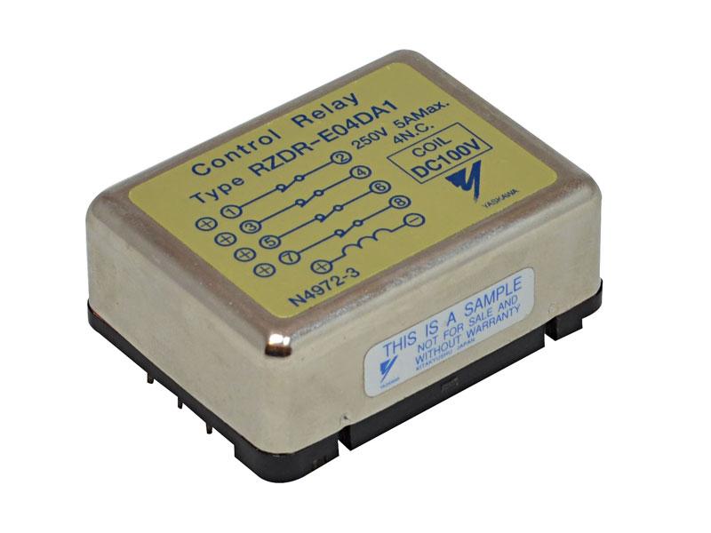 Relé multipolo para circuito impreso