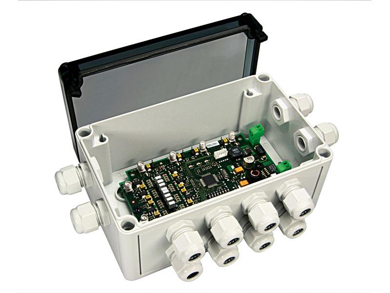 Multiplexor para varias antenas RFID HF