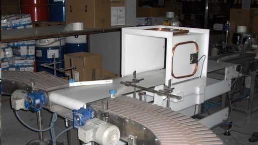 Túnel de lectura RFID HF para tóners impresora con laterales abiertos