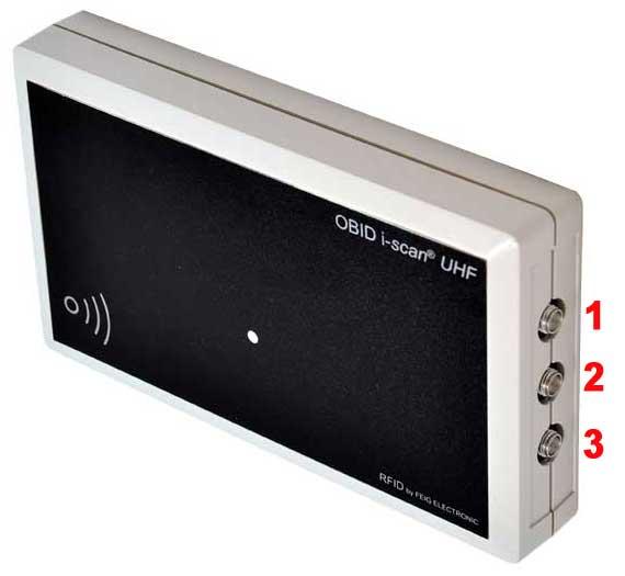 Nuevo lector UHF media distancia con 3 salidas para antena externas