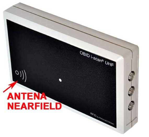 Lector MRU102 con antena interna UHF NearField
