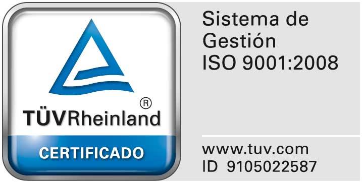 Sello de aprobación del certificado de calidad de FQ