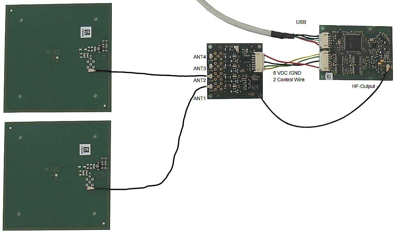 Multiplexor electrónico MIFARE®