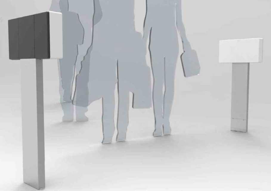 Solución identificación personas mediante pasilllo UHF