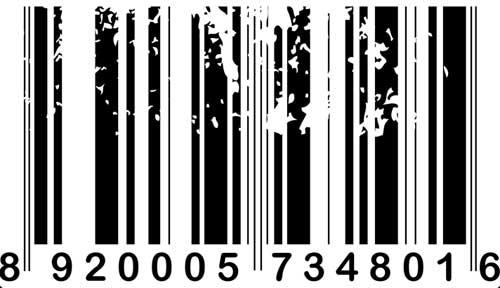 Código de barras ilegible o con errores