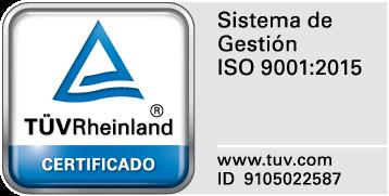 Logo ISO FQ Ingenieria Electronica, SA