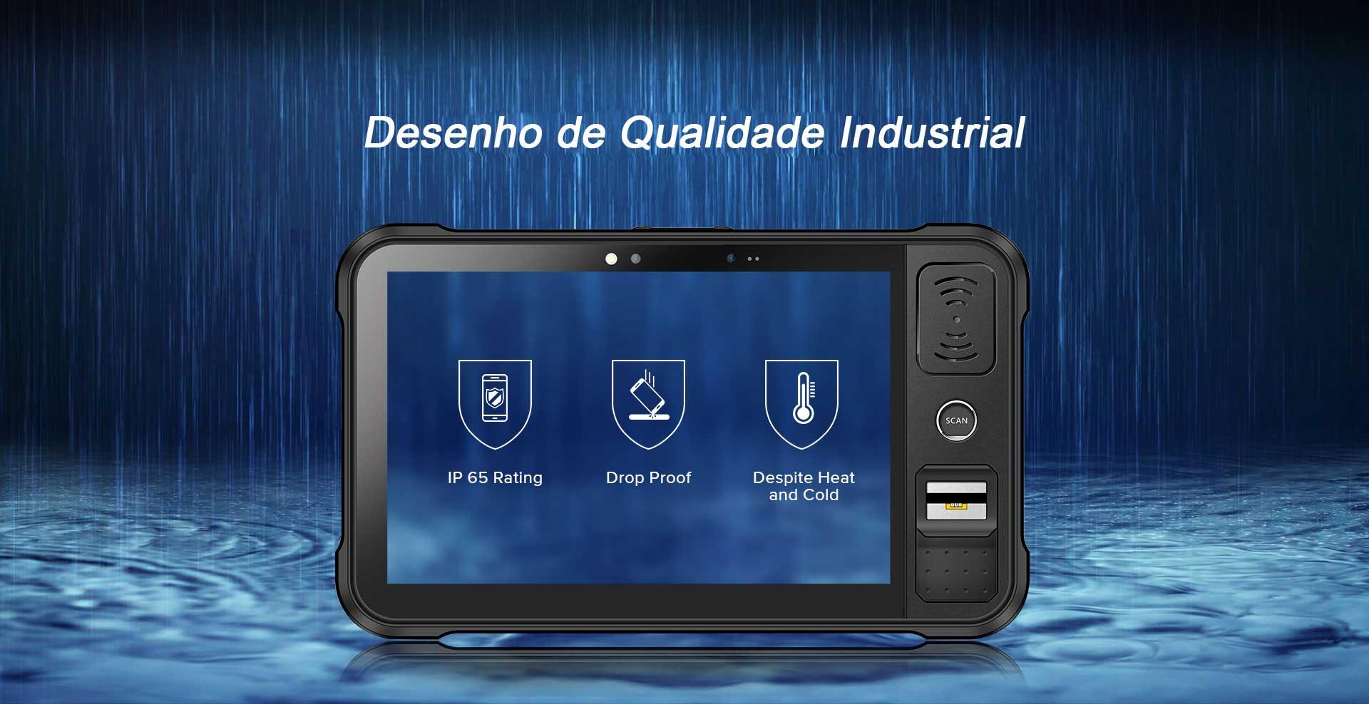 TABLET INDUSTRIAL P80 Design de Qualidade Industrial