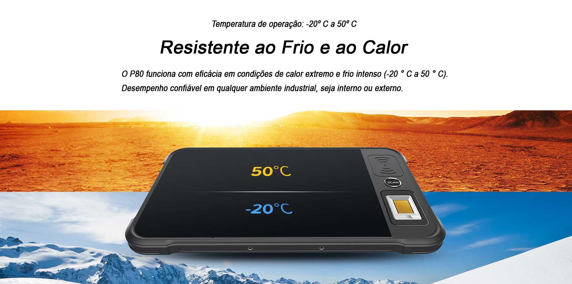 TABLET INDUSTRIAL P80 CHAINWAY FRIO E CALOR