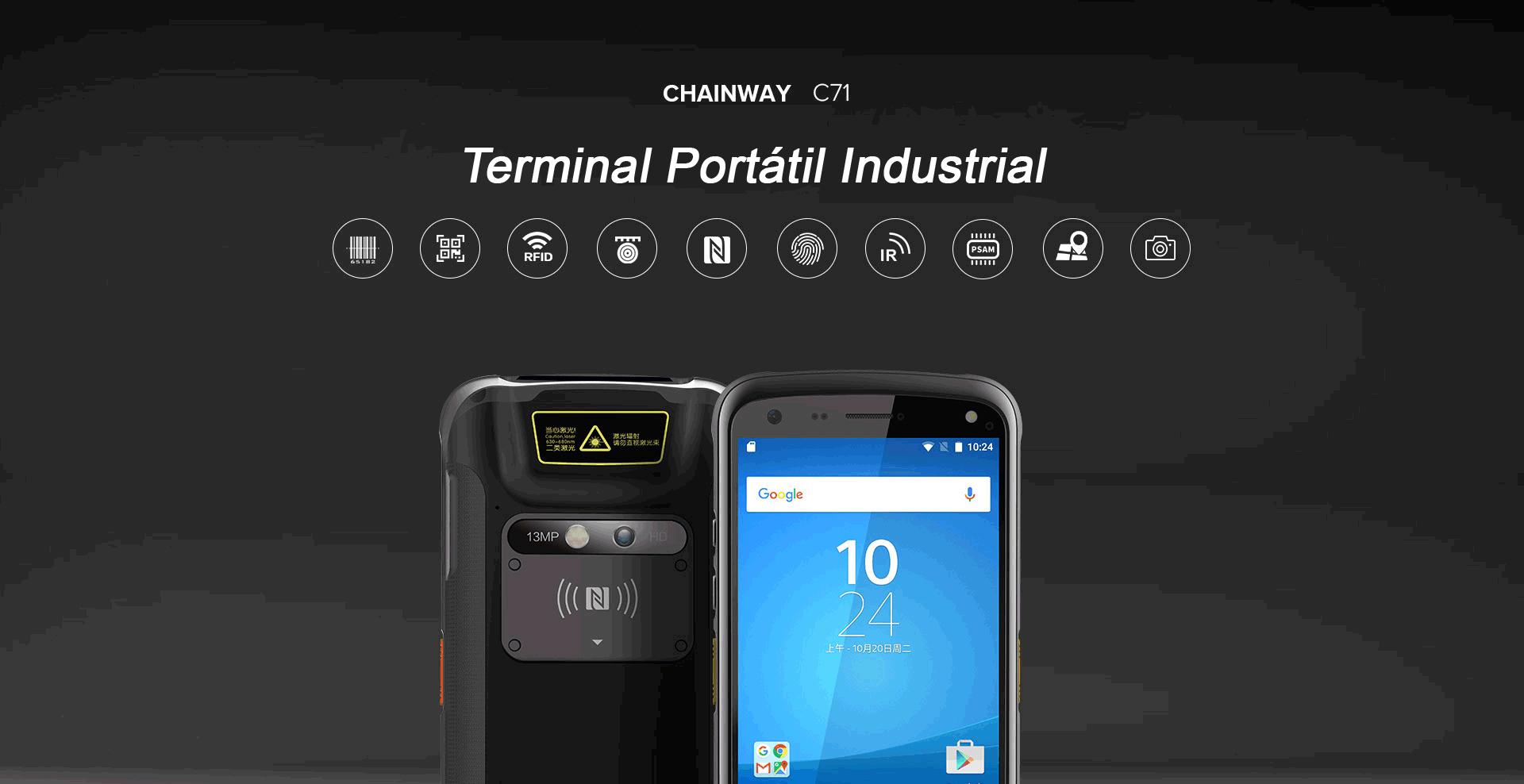 Terminal Portátil Industrial C71 Chainway