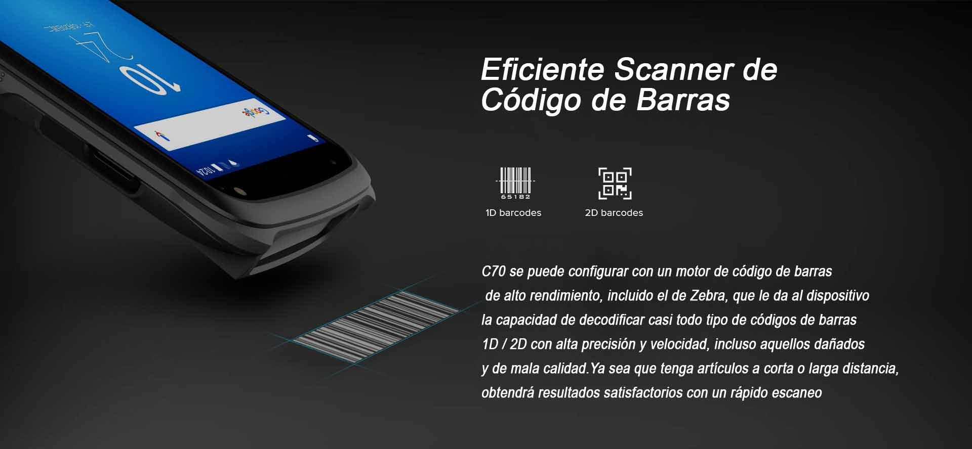 TERMINAL PORTATIL C70 NFC