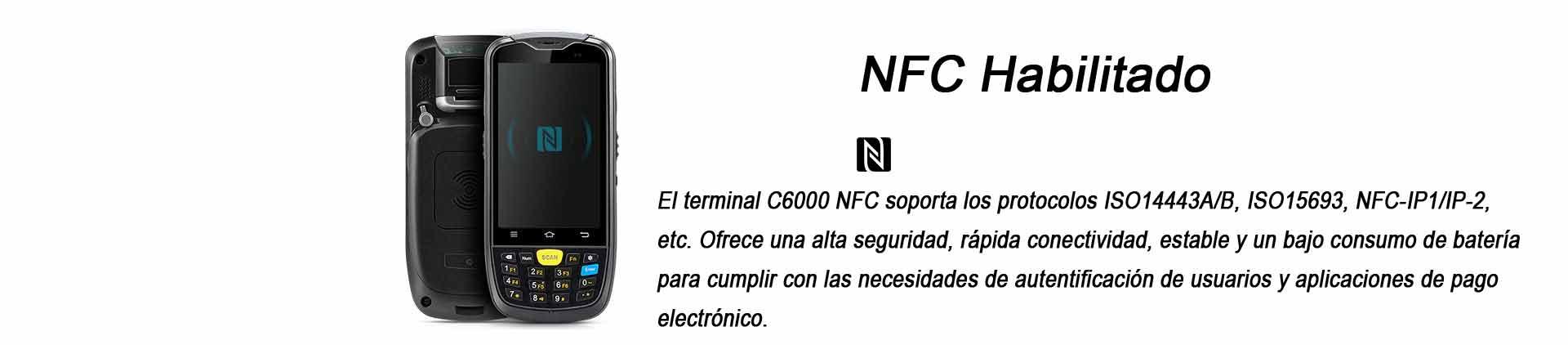 Terminal Portatil C6000 Chainway NFC