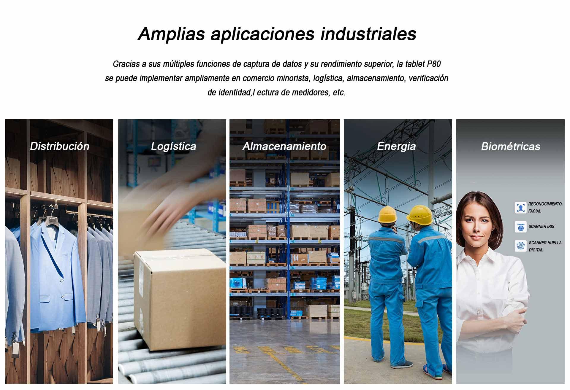 tablet industrial p80 chainway industria