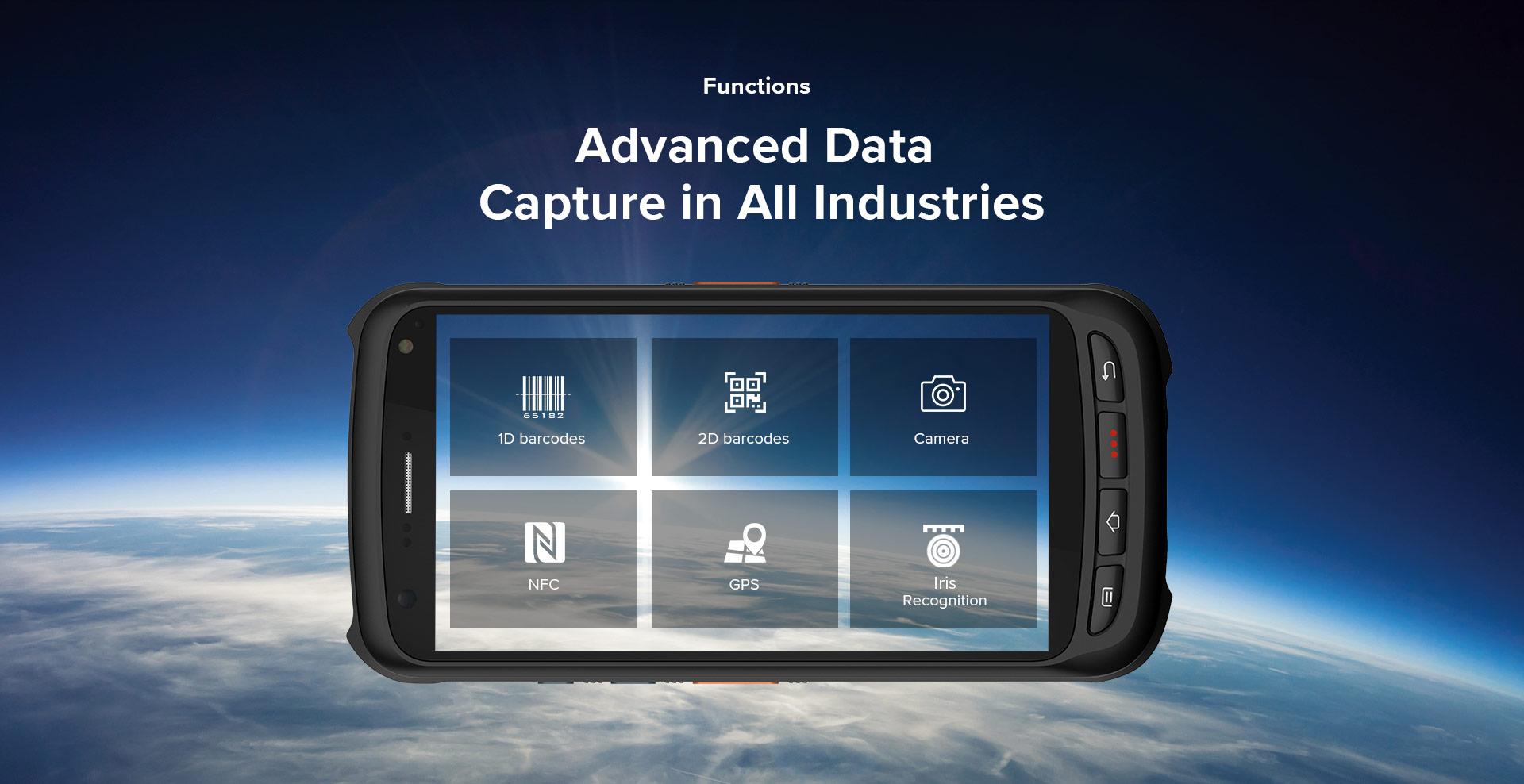 Handheld C70 Chainway Advance Data