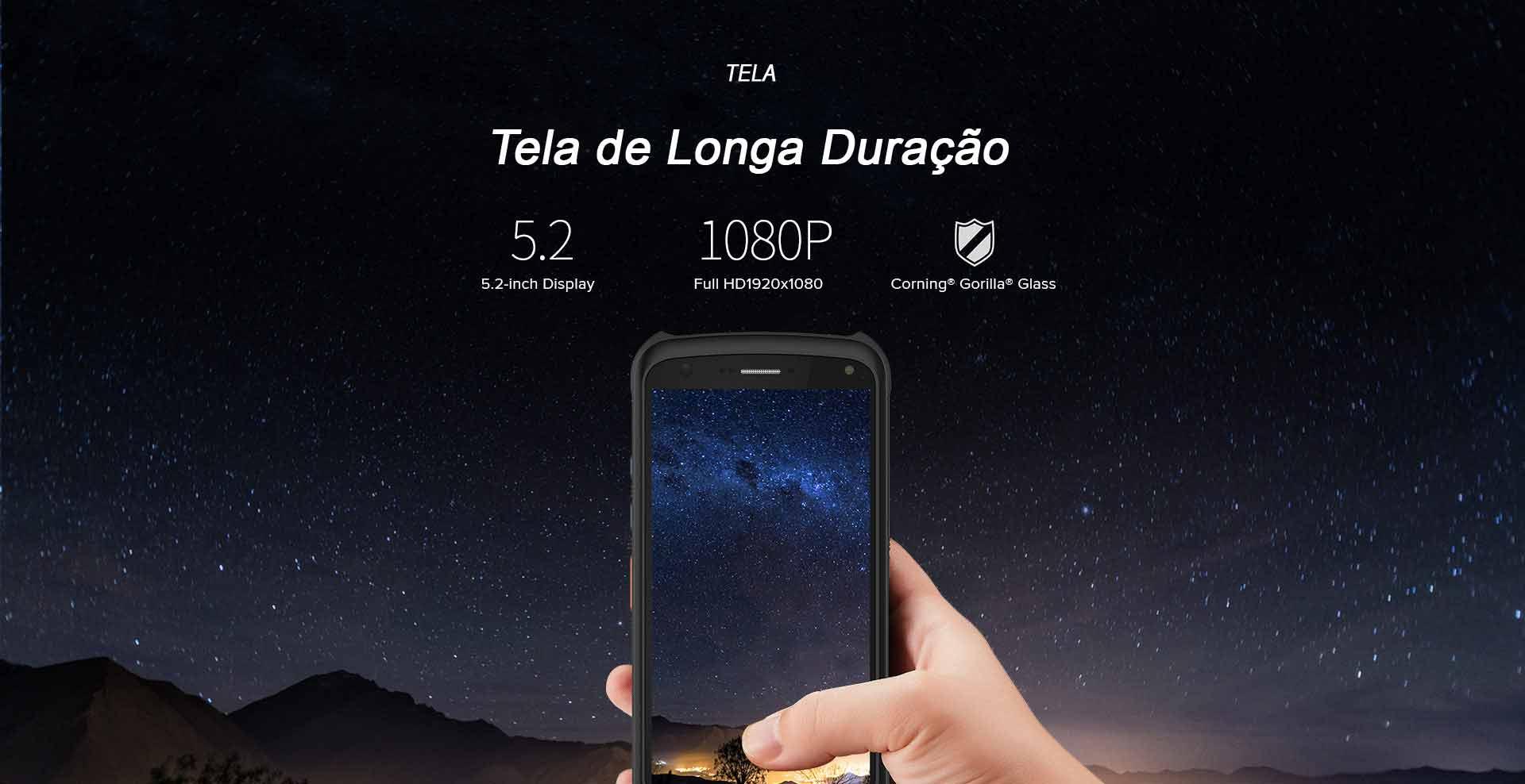 Terminal móvel C70 CHAINWAY Android Tela